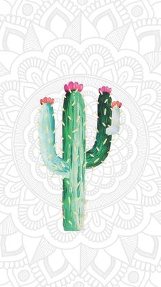 - My best wallpaper list Frühling Wallpaper, Cute Wallpaper Backgrounds, Tumblr Wallpaper, Cute Wallpapers, Mexico Wallpaper, Papier Paint, Best Wallpapers Android, Cactus Art, Cactus Painting