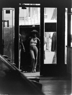 Photos taken from behind the bar at Terminal Bar, a 41st Street and 8th Avenue watering hole open until 1982, show a side of Times Square that has disappeared in the glare of Coca Cola advertisements