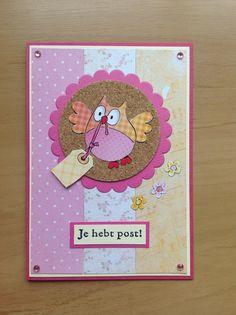 Owl Card, Marianne Design, Greeting Cards Handmade, Van, Diy Crafts, Frame, Card Ideas, Cards, Totes