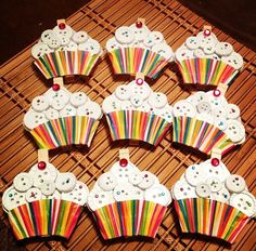 """cupcake door decs because this year is going to be """"sweet"""""""
