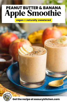 Yummy Smoothies, Smoothie Drinks, Smoothie Bowl, Smoothie Recipes, Dairy Free, Grain Free, Fruit Slice, Cinnamon Spice, Gluten Free Breakfasts