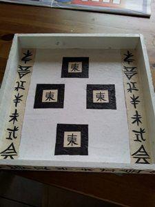 Kaarsentray van de action met servetten techniek