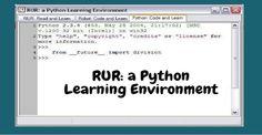 RUR Python learning environment
