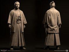 Tyler Smith, Samurai Champloo, 3d Figures, Ghost Of Tsushima, Sucker Punch, Storyboard Artist, Attack On Titan Levi, Samurai Warrior, Environment Concept Art
