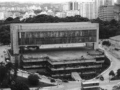Brutalist. Lina Bo Bardi. Sao Paolo.