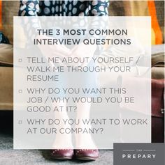 most common job interview questions and how to answer them