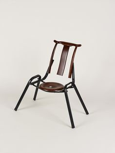 MingMu 2007 Found wooden and metal chair elements  Chairs copied from Ming Dynasty period sliced together
