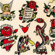 70 Trendy Tattoo Old School Ideas Vintage Sailor Jerry Arrow Tattoos, Feather Tattoos, Dog Tattoos, Cat Tattoo, Sleeve Tattoos, Vintage Sailor, Vintage Flash, Art Vintage, Sailor Jerry Flash