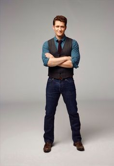 Matthew Morrison as Will Quester in Glee.