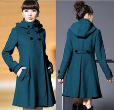 Adorable winter coat. Comes in blue, magenta, grey and black. I want the grey one for dark mori winter layering. $19.98USD with free shipping