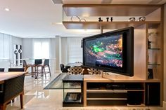 Tv Stand - Unclear About Furniture? Top Tips On Furniture Buying And Care. Tv Stand Room Divider, Home Tv Stand, Bedroom Tv Stand, Swivel Tv Stand, Tv Stand Designs, Muebles Living, Tv Furniture, Living Room Tv, Living Room Designs
