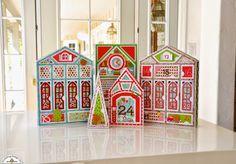 Doodlebug Design Inc Blog: Santa Express: Counting Down To Christmas Advent calendar by Courtney Lee.
