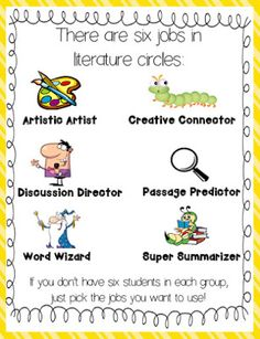 Literature Circles 101! Set up lit circles with ease! Freebies included, too!