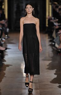 Black Mathilde Dress, Plexi Wedge Summer 2013 Look 27