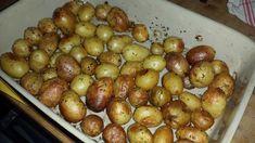 Pomme de terre grenailles au four