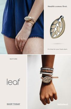 This is probably the prettiest fitness tracker I've ever seen! Leaf Urban is a perfect gym companion that will track your activities, distance taken, calories burned. I connects with an app where you can track your progress day by day.