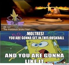 Hahaha, yeah, we all reach that point with legendaries.... #pokemonjokes