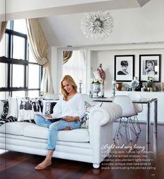 Megan Hess home #interiors #decor #art #arhitektura+ (2)
