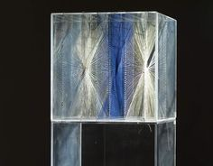Lenore Tawney - pioneering of 'open-warp' technique, that is weavings with areas of unwoven warp, particularly also 'drawings in air' using plexiglass frames and transparency to highlight construction techniques