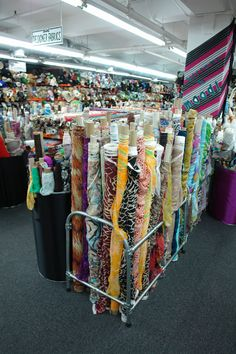 Where Do the Threads Editors Buy Their Fabric? Fabric Crafts, Sewing Crafts, Sewing Projects, Fabric Houses, Fabric Shop, Retail Displays, Shop Displays, Merchandising Displays, Window Displays