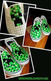 NIKERBOCKER: Bam! Minecraft shoes!