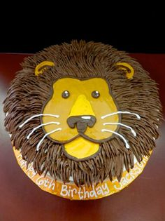 We will cater to your every cake wish! We are more than happy to accommodate any request. Have a picture with an idea? Let us turn your concept into cake reality! Lion Cakes, Lion King Cakes, Lion King Birthday, Lion Birthday Cakes, Lion Party, Jungle Cake, Animal Cakes, Animal Birthday, Cute Cakes