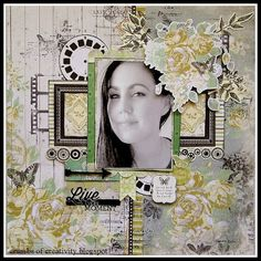 The February challenge for SCRAP THE GIRLS is a fabulous mood board. Scrapbooking Layouts, Scrapbook Pages, February Challenge, Good Day To You, Something To Remember, Creating A Blog, Layout Inspiration, Book Journal, Blog Title