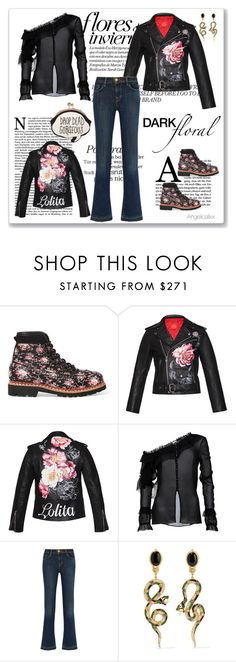 """""""Flores de Inverno"""" by angelicallxx ❤ liked on Polyvore featuring Tabitha Simmons, Magda Butrym, J Brand, Diego Percossi Papi, Sophia Webster and darkflorals"""