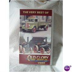 The Very Best of Old Glory - VHS video of vintage steam vehicles Listing in the Agricultural & Industrial,Transportation,Collectables Category on eBid United Kingdom