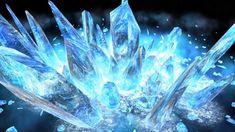 011:一般:Unity:フリー「氷柱出現」 Ice Aesthetic, Crystal Aesthetic, Ice Magic, Magic Art, Fantasy World, Fantasy Art, Photo Trop Belle, Ice Drawing, Character Inspiration
