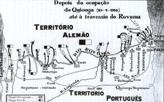 Escaramuças na fronteira Alemã-Portuguesa.