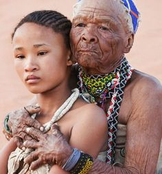 The Khoisan people are an indigenous hunter-gatherer people of Southern Africa whose roots are literally ancient. Khoisan are one of the 14 people groups from which all humanity descended and Khois… African Tribes, African Diaspora, African Nations, We Are The World, People Of The World, African Culture, African American History, Black Is Beautiful, Beautiful Images