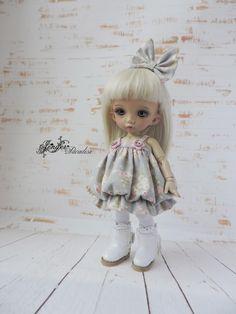 Dress for a doll BJD Lati Yellow/Pukifee/IrrealDoll/Nikki Britt