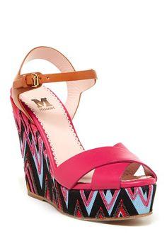 M Missoni Zig Zag Wedge Sandal by Assorted on @HauteLook $129.00  SIZE: 6