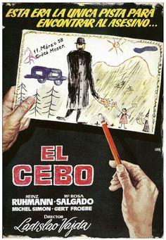 """El cebo (1958) """"Es geschah am hellichten Tag"""" de Ladislao Vajda - tt0051588"""