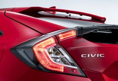 Honda has teased its new Civic Hatchback ahead of a Paris Motor Show debut.