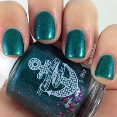 Anchor and Heart Lacquer A Little Bit Brave @tarynjshaw