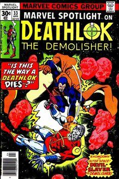 Deathlok finally returns... briefly.