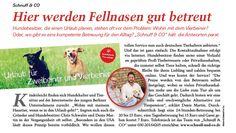 In der aktuellen Ausgabe des CITY DOG findet ihr einen Artikel über Schnuff & Co. CITY DOG ist das Magazin für die Hundemetropolen Hamburg, Berlin und München!