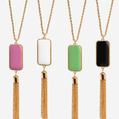 Tassel Necklaces - cutest jewelry & best deals!