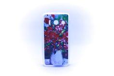 Carcaza Pintura Jarrón Rosas Relieve Huawei Y300 — HighTeck Store