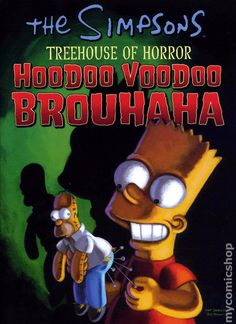 Simpsons Treehouse of Horror TPB (2001-2011 HarperCollins) 4-REP