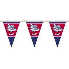 NCAA Gonzaga Bulldogs 16-Inch Plastic Street Sign D/écor