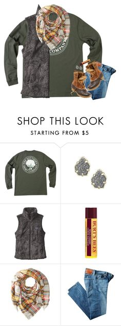 """""""off to the snow president's day weekend!"""" by mehanahan ❤ liked on Polyvore featuring Kendra Scott, Patagonia, Hat Attack, AG Adriano Goldschmied and L.L.Bean"""