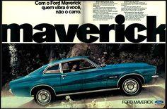 Anúncio Ford Maverick - 1973