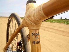 Bicicleta de bambu é destaque em premiação internacional