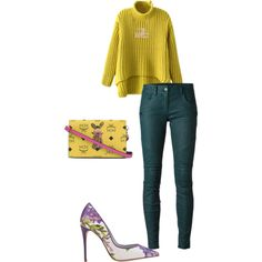 Untitled #216 by andreopoulouefi on Polyvore featuring Chicnova Fashion, DKNY, Dolce&Gabbana, MCM and MARC BY MARC JACOBS
