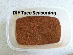 DIY Taco Seasoning (So much healthier and cheaper than a packet!)
