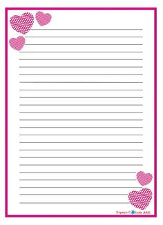 Printable Lined Paper, Free Printable Stationery, Pink Wallpaper Iphone, Kitty Wallpaper, Journal Paper, Journal Cards, Lined Paper For Kids, Gestion Administration, Paper Bag Scrapbook
