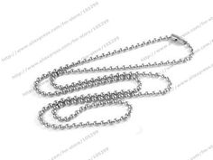 JEXXI Free Shipping Wholesale Cheap Necklace Chains 1.5mm 18 inch Necklace Ball Chain Jewelry Accessories
